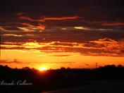 Awesome sunset tonight