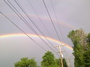 Super rainbow!