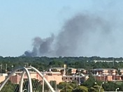 City fire