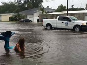 Mermaid Washed ashore in St. Petersburg by Tropical Storm Colin