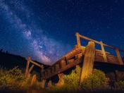 Milky Way, Alberta/Saskatchewan