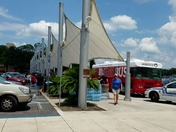 Blood drive line at Altamonte mall