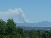 East Mountain fire