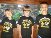 Triplet Penguin fans !!