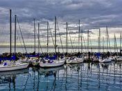 Sailing Boats at White Rock, BC