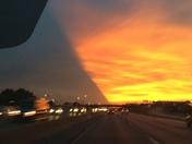 Summer night sky in KC