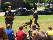Hampton Academy Donates $1,700 to NH State Police K-9 Unit for Kevlar Vest in Na
