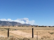 Manzano fire from Sandia