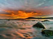 Rocky Harbour Sunset, Gros Morne