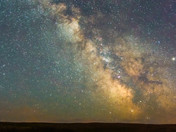Milky Way at Grasslands National Park