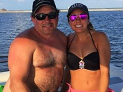 Father daughter on the res.
