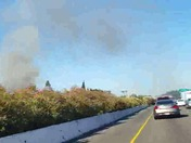 Vacavile fire starting just now