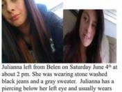 Missing teen
