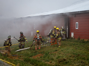 Salisbury Township Chicken House Fire