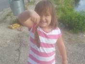 Sophias first fish
