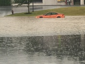 Flooding on Derry st Harrisburg pa