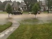 Video from flooding on Derry St 06-24-16