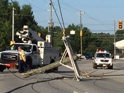 Power outage on E. North Street  & Mitchell Rd.