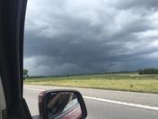 Severe thunderstorm in Johnsom County MO