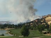 Cache Creek fire 6/26/16