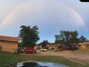 Double rainbow in Edmond""