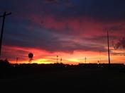 Sunrise over Wooward