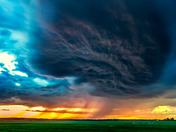 A pillow of Dark Clouds