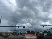 Summer storm approaching.