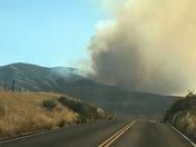 Highway 198 Fire