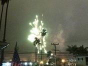 Flash of celebration