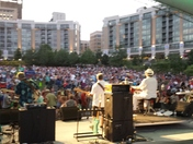 jazz on the green stage view