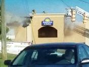 Fire at Days Inn