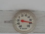 The real temperature in live oak. Sat July 9th.