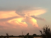 Awesome cloud formation near Lees Summit