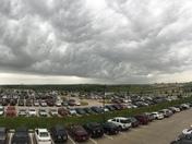 Storms approaching Jordan Creek area