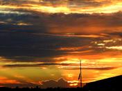 July 14th sunset