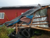 Damage from storm