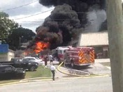 Property Fire at ATV Store on Wade Hampton Blvd