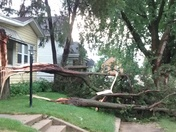 Thunderstorm damage