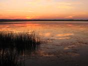 Saskatoon Lake Sunset