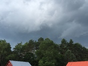 Thunder in Bloomingdale, NY