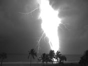 Boca Beach Lightning Storm
