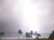 Boca Beach Lightning Storm 2