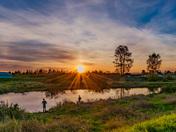 Fishers Sunset