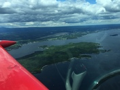 Flew today out of Plattsburgh, NY