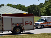 Injured man at recreation field by St Francis