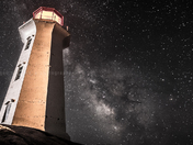 Milky Way in Peggy's Cove