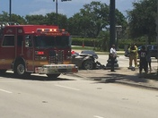 Flagler and okechobee accident at 130pm