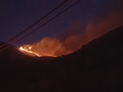 Fire at Garrapata State Park