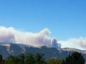 Soberanes Fire view from Mt. Toro